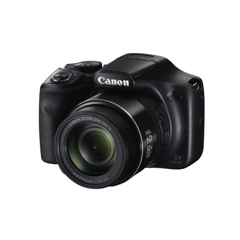 Digitálny fotoaparát Canon PowerShot SX540 HS čierny + Doprava zadarmo