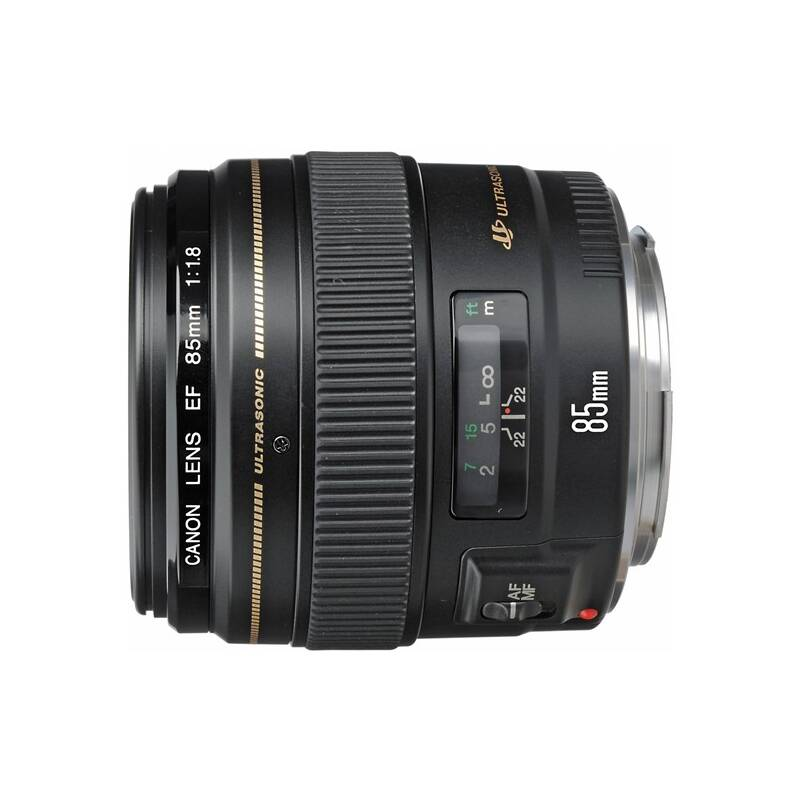 Objektív Canon EF 85mm f/1.8 USM (2519A019AA) čierny