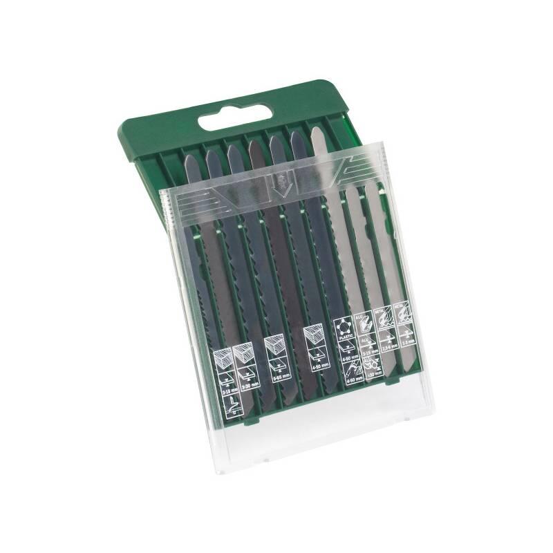 Sada pílových plátkov Bosch 10 dielna kazeta pílových plátkov drevo/kov/plast (T-stopka)