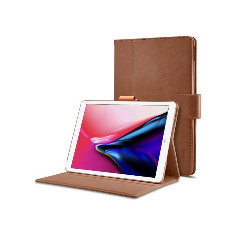 "Puzdro na tablet polohovacie Spigen Stand Folio pro Apple iPad 10,5"" 2017 (LCSAPIPA105217SPBR) hnedé"