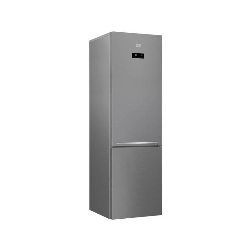 Kombinácia chladničky s mrazničkou Beko RCNA 406 E30XP Titanium + Doprava zadarmo