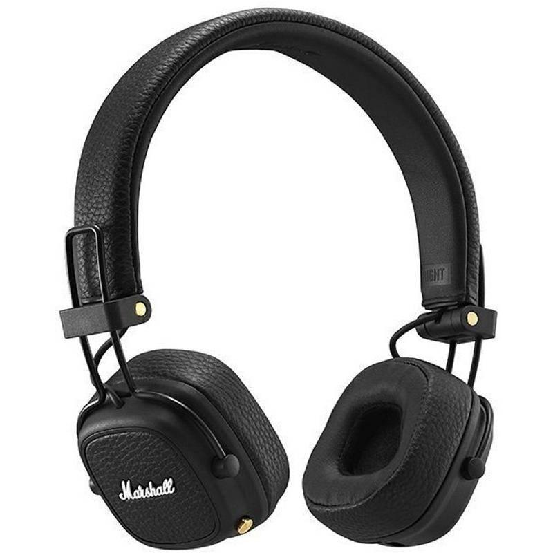 Slúchadlá Marshall Major III Bluetooth čierna + Doprava zadarmo