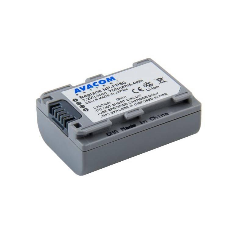Batéria Avacom Sony NP-FP50 Li-Ion 7.2V 750mAh 5.4Wh (VISO-FP50-142N2)