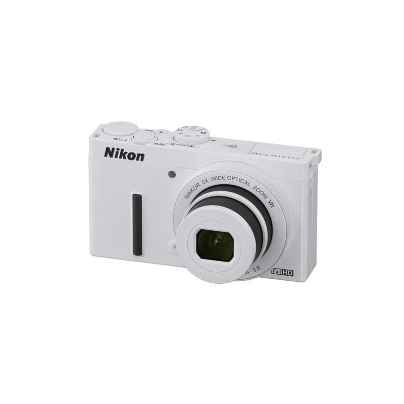 Digitálny fotoaparát Nikon Coolpix P340 biely + Doprava zadarmo
