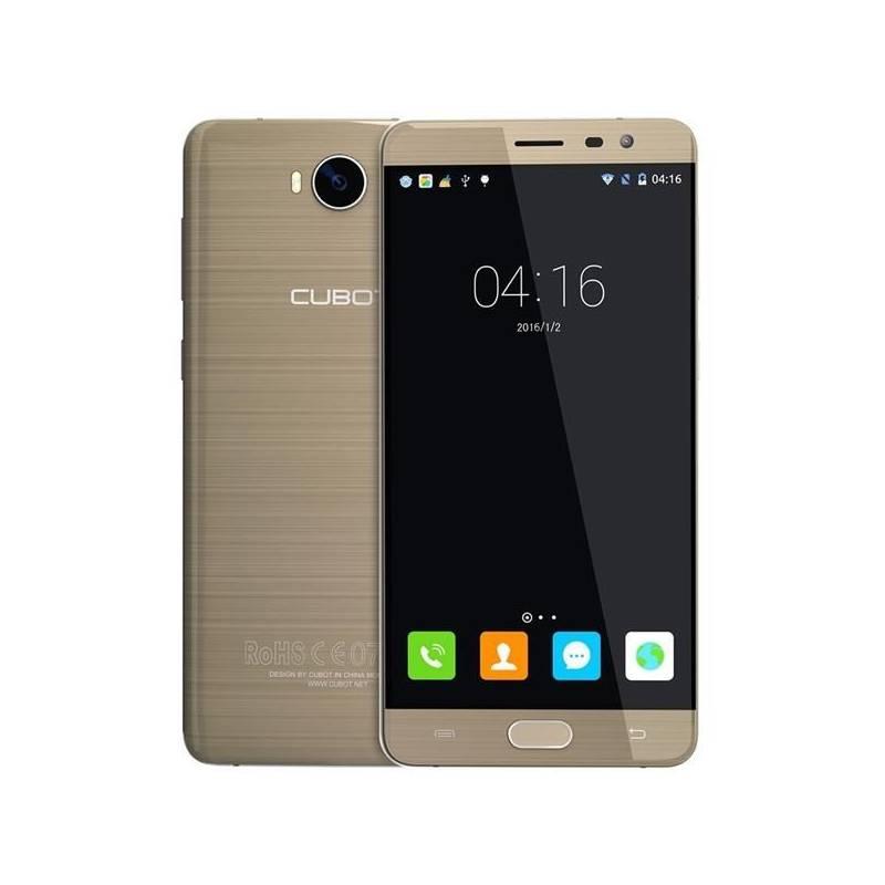 Mobilný telefón CUBOT Cheetah 2 Dual SIM (PH2766) zlatý Software F-Secure SAFE, 3 zařízení / 6 měsíců (zdarma) + Doprava zadarmo