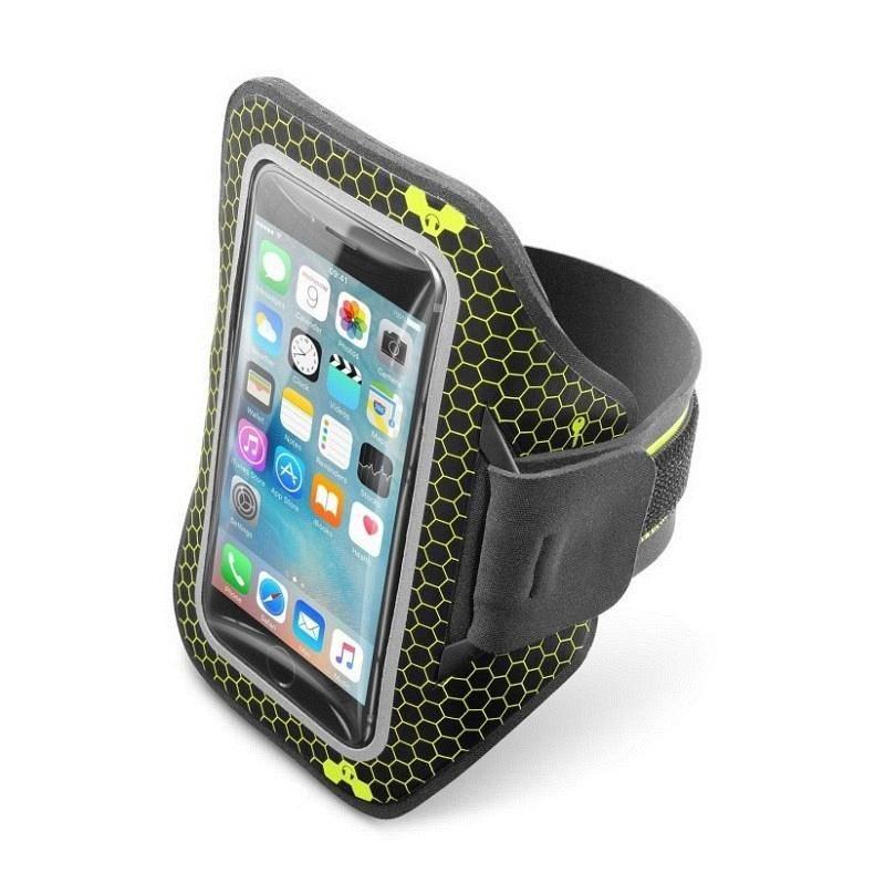 "Puzdro na mobil športové CellularLine pro smartphony do velikosti 5,2"" (443596) čierna farba"