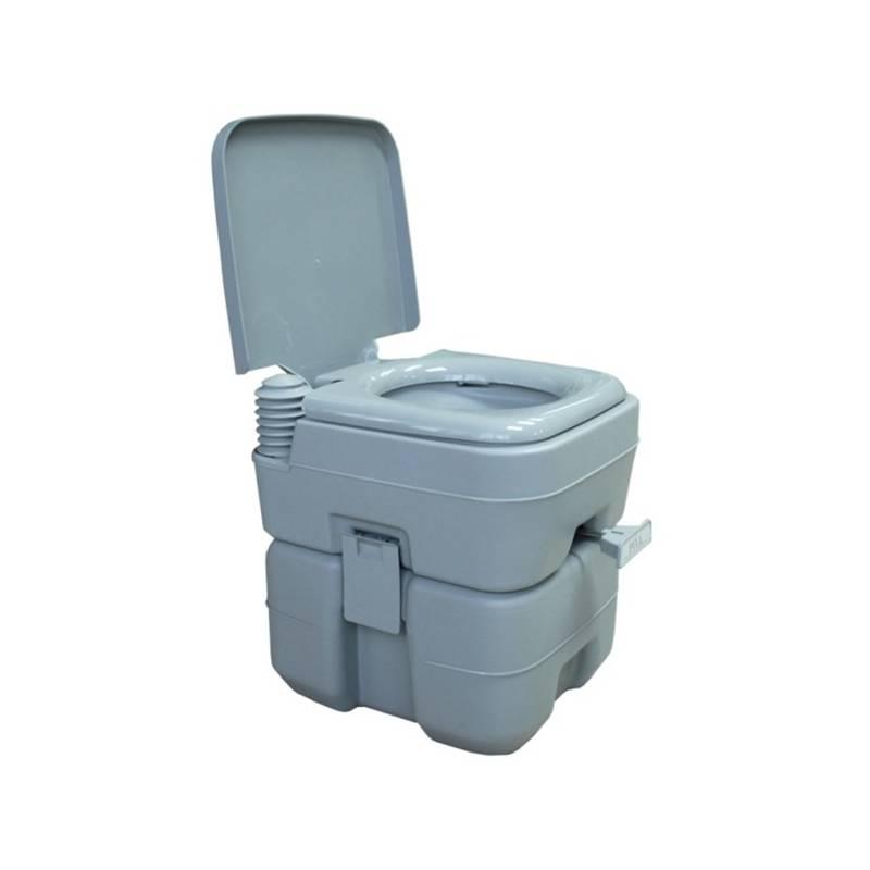 Chemická toaleta Rulyt 12/20 L sivá + Speciální toaletní papír Campingaz pro chemické toalety EURO SOFT (4 role) v hodnote 4.00 € + Doprava zadarmo