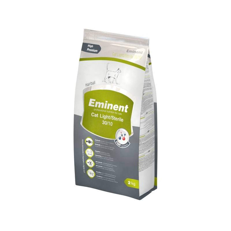Granuly Eminent Cat Light/Sterile 10 kg