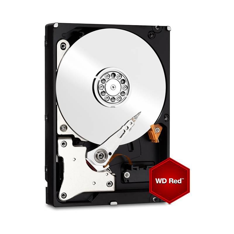 "Pevný disk 3,5"" Western Digital RED 4TB, SATA III, IntelliPower, 64MB cache (WD40EFRX)"