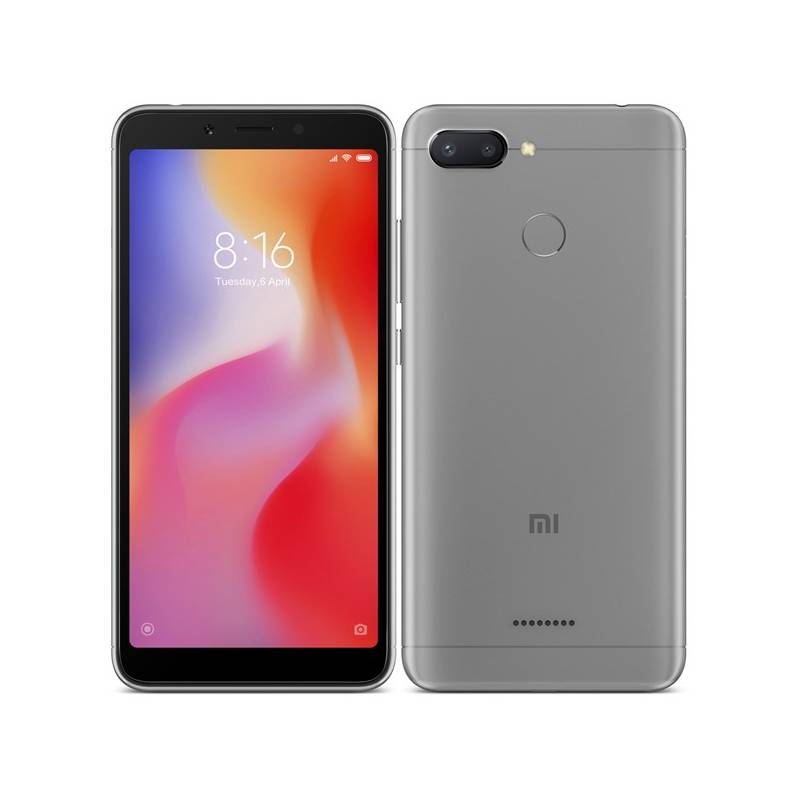 Mobilný telefón Xiaomi Redmi 6 Dual SIM 64 GB (19628) sivý + Doprava zadarmo
