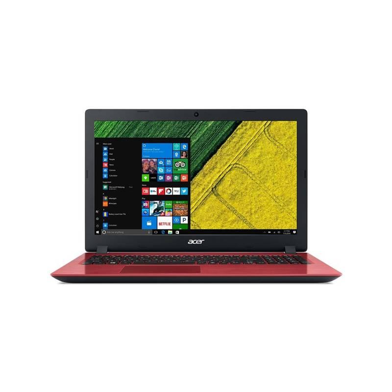 Notebook Acer Aspire 3 (A315-32-P82M) (NX.GW5EC.002) červený + Doprava zadarmo