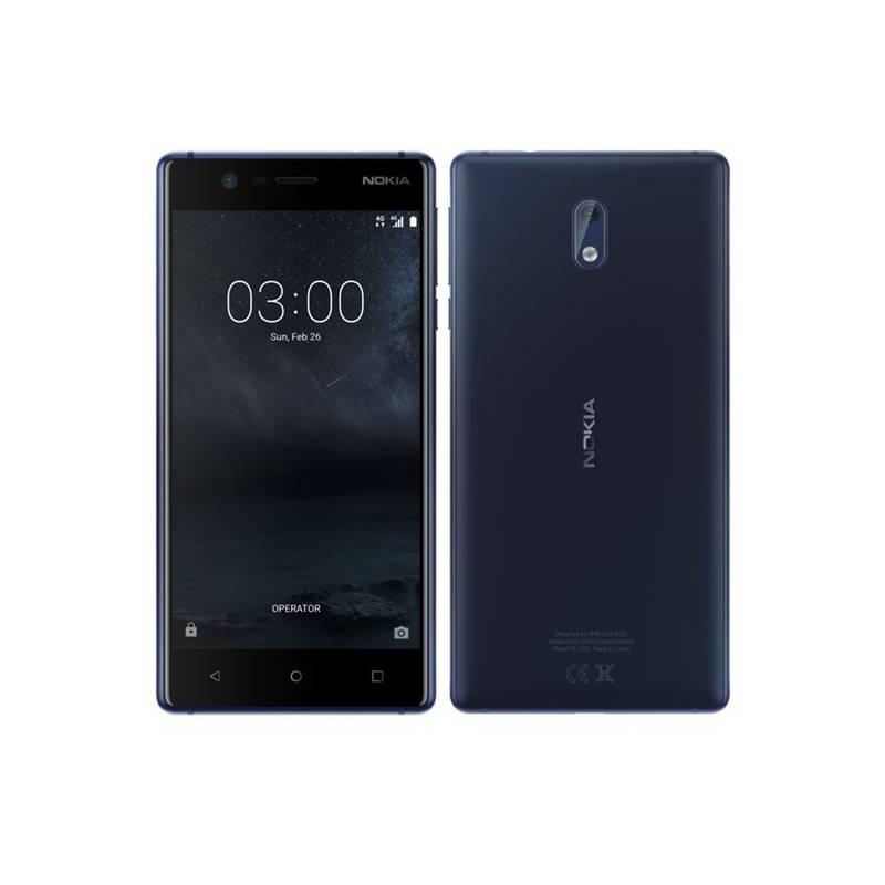 Mobilný telefón Nokia 3 Dual SIM (11NE1L01A13) modrý + Doprava zadarmo