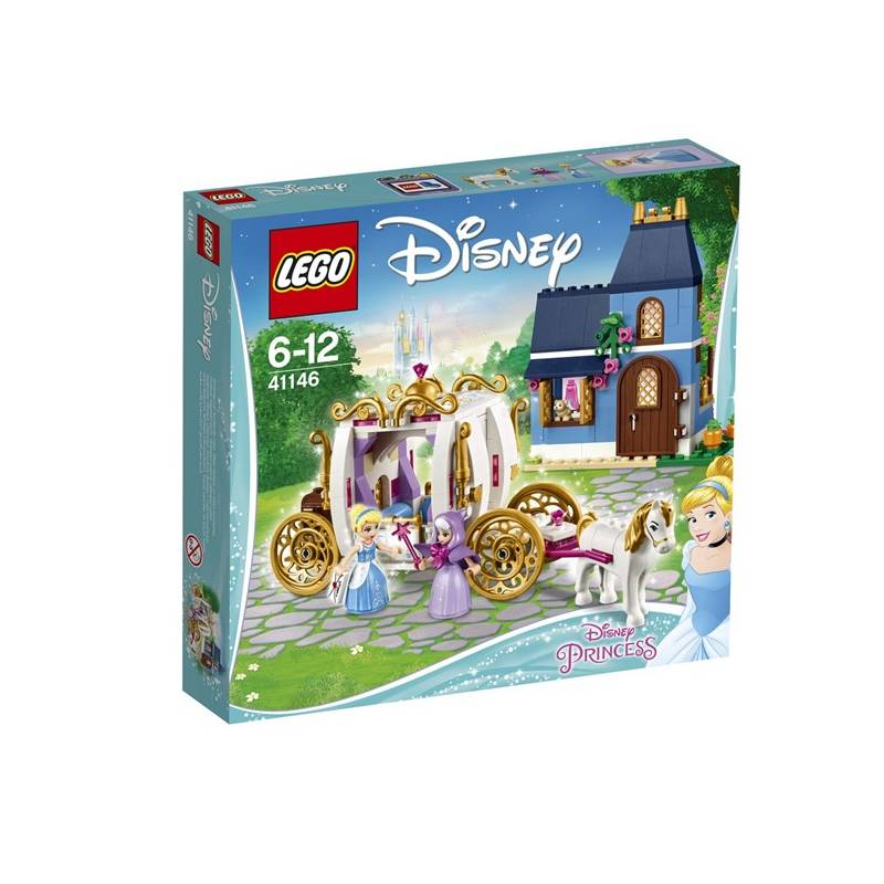 Stavebnica LEGO® DISNEY PRINCESS® 41146 Popelčin kouzelný večer
