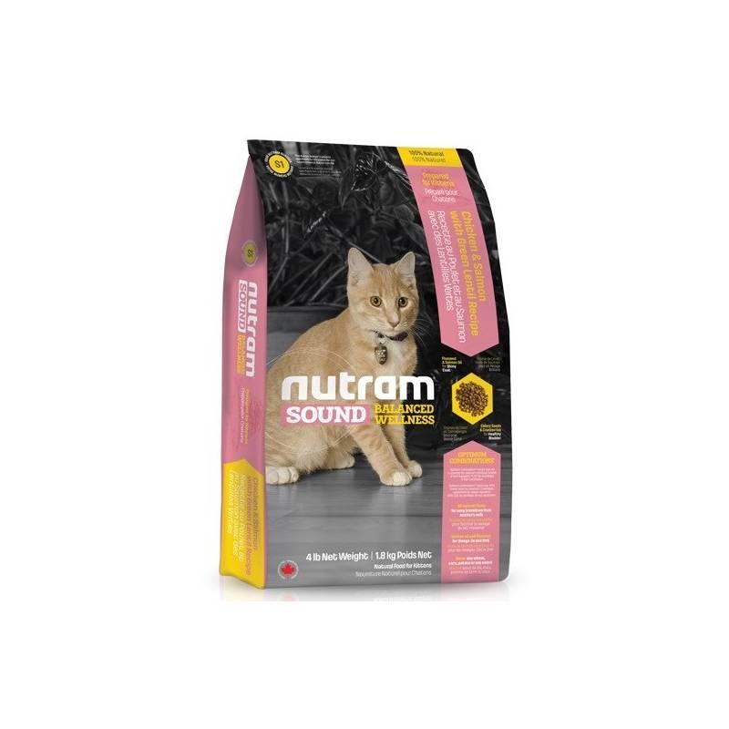 Granule NUTRAM Sound Kitten 1,8 kg