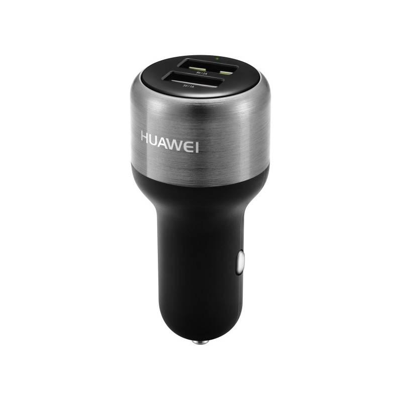 Adaptér do auta Huawei AP31 FastCharge, 2x USB, 2A, s funkcí rychlonabíjení (2452315) čierny