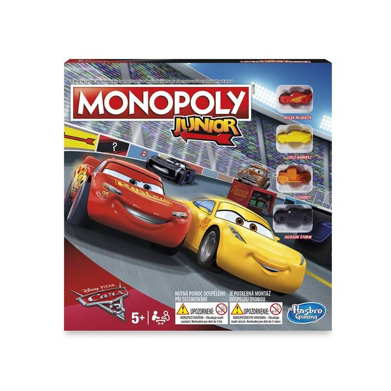 Hra Hasbro Monopoly Auta 3 + Doprava zadarmo