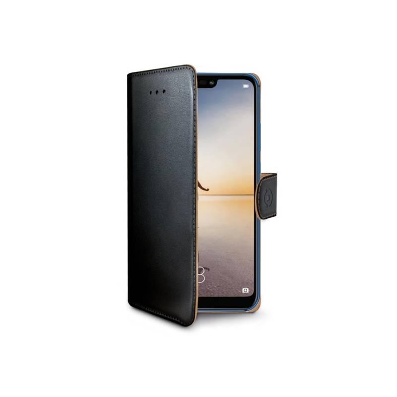 Puzdro na mobil flipové Celly Wally pro Huawei P20 Lite (WALLY744) čierne