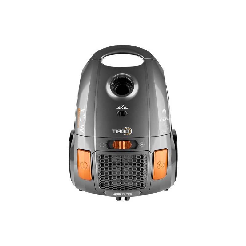 Vysávač podlahový ETA Tiago 3507 90000 strieborný + Doprava zadarmo