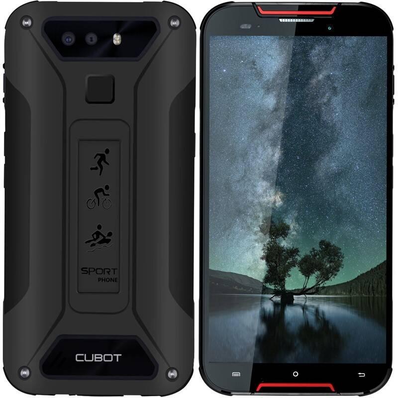 Mobilný telefón CUBOT Quest Lite (PH4132) červený + Doprava zadarmo