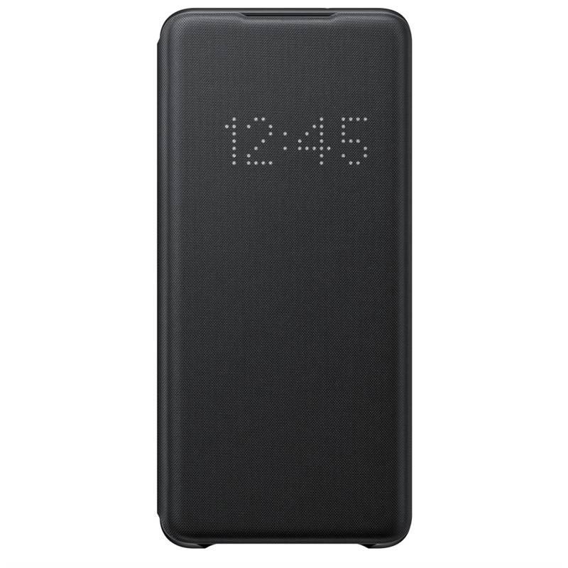 Púzdro na mobil flipové Samsung LED View na Galaxy S20+ (EF-NG985PBEGEU) čierne