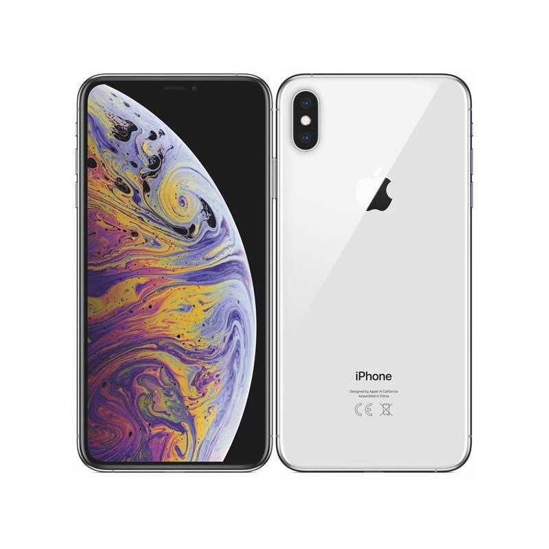 Mobilní telefon Apple iPhone Xs Max 256 GB - silver (MT542CN/A)