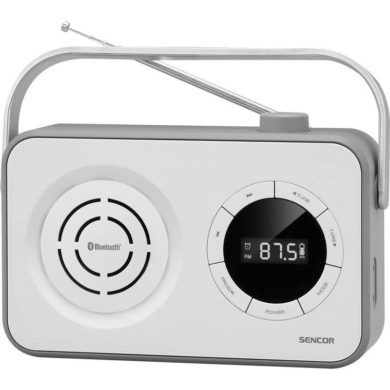 Radiopřijímač Sencor SRD 3200W bílý