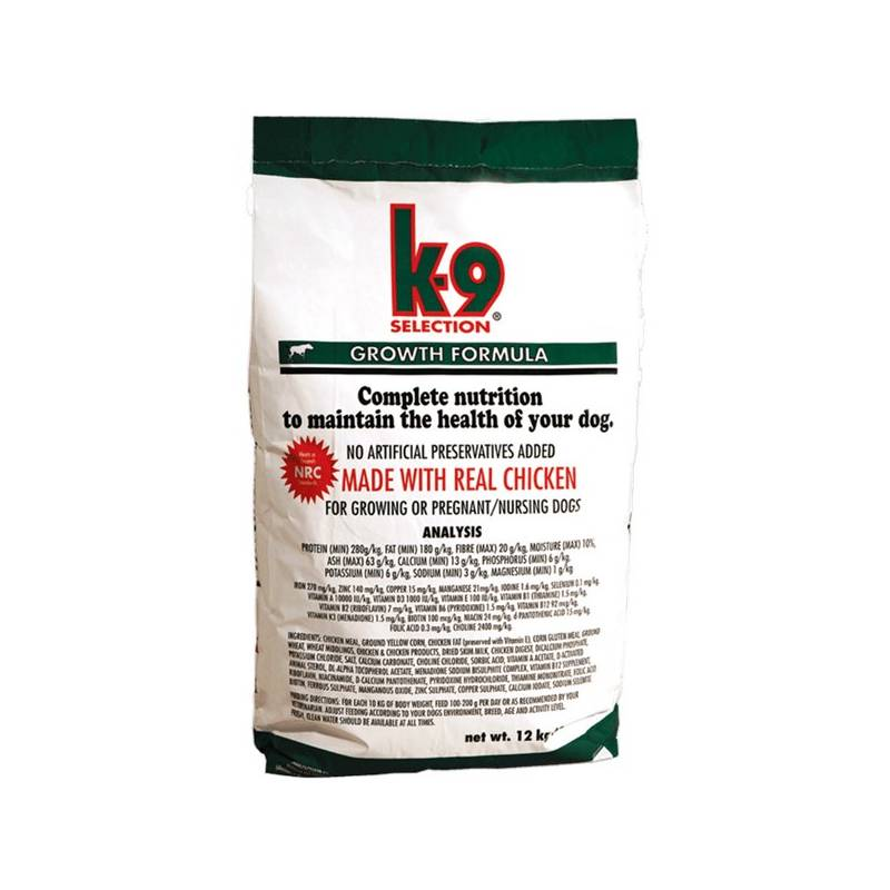 Granule K-9 Growth Formula 12 kg
