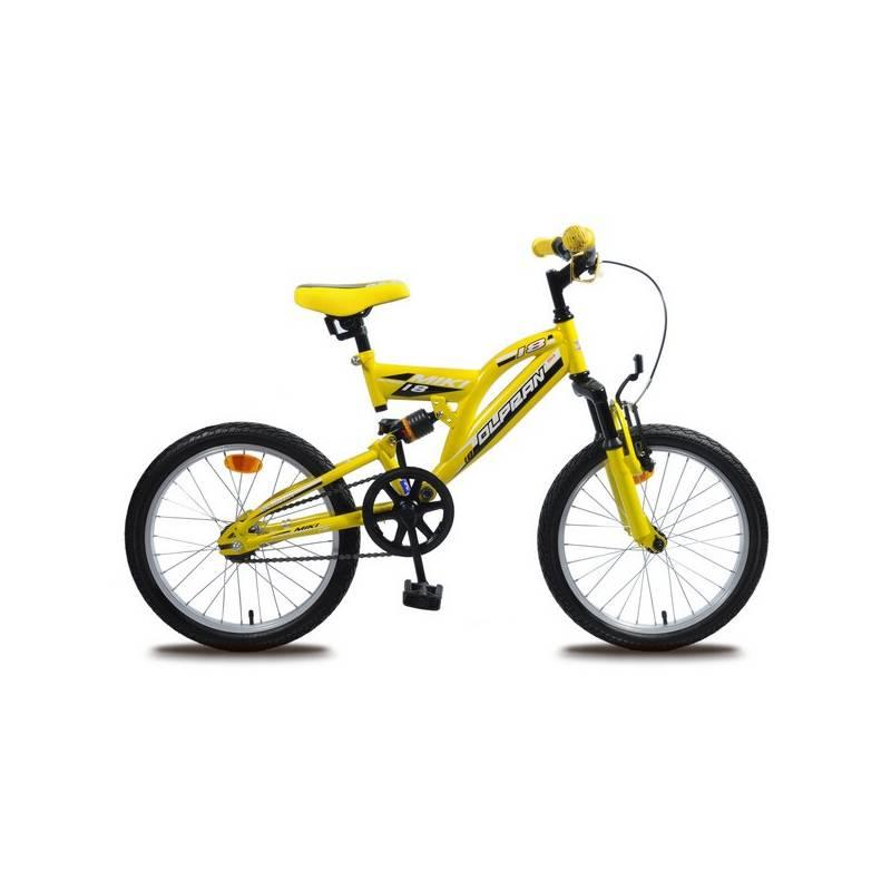 """Detský bicykel Olpran Miki 18"""" žltý"""