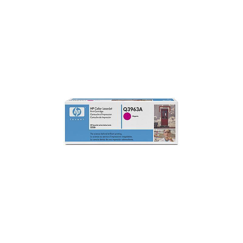 Toner HP 122A, 4000 stran (Q3963A) červená + Doprava zadarmo