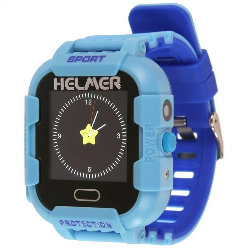 09473dceb Chytré hodinky Helmer LK 708 dětské s GPS lokátorem (Helmer LK 708 B) modrý