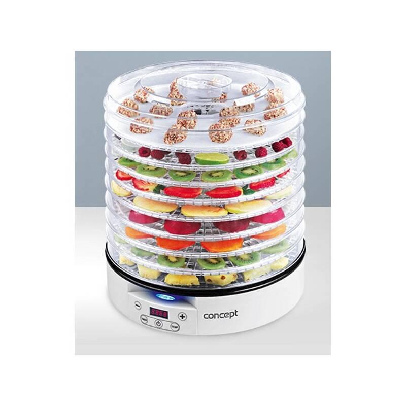 Sušička ovocia Concept SO2020 biela + Doprava zadarmo