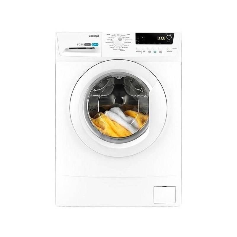 Automatická práčka Zanussi ZWSE7120V biela + Doprava zadarmo