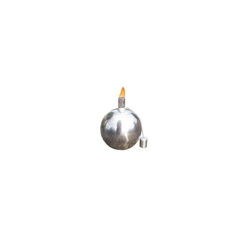 Svietnik Dimenza olejový zahradní – střední strieborné