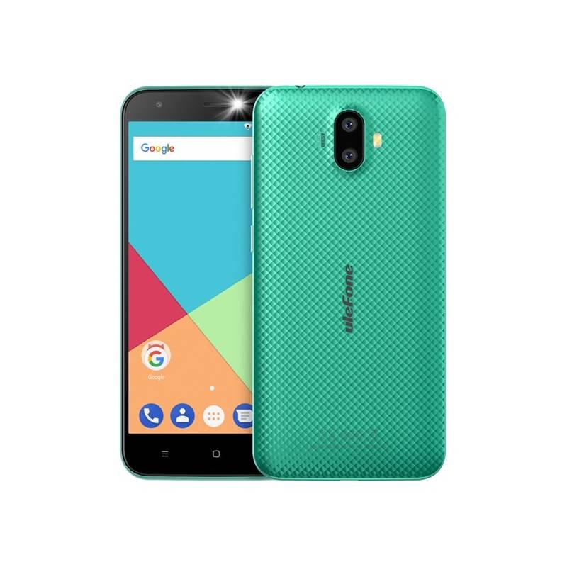 Mobilný telefón UleFone S7 Dual SIM (6937748731573) zelený Software F-Secure SAFE, 3 zařízení / 6 měsíců (zdarma)