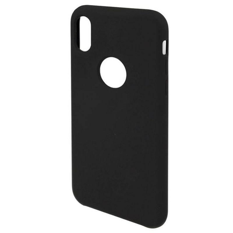 Kryt na mobil 4smarts pro Apple iPhone X (MP460893) čierny 45bde8f7776