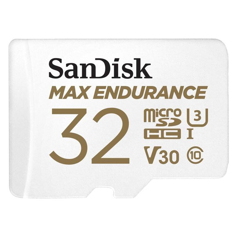 Pamäťová karta Sandisk MAX ENDURANCE microSDHC 32 GB + adaptér (SDSQQVR-032G-GN6IA)