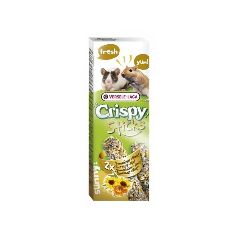 Krmivo Versele-Laga Crispy Sticks Slnečnica a med tyčinka pre hlodavce