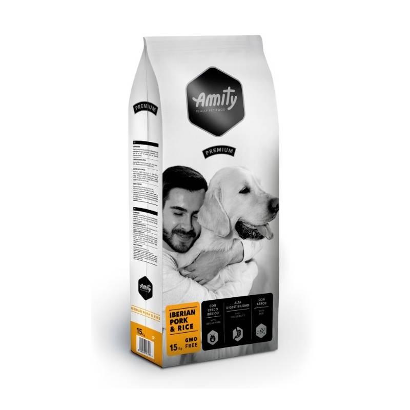 Granule Amity premium dog IBERIAN Pork & Rice 15kg