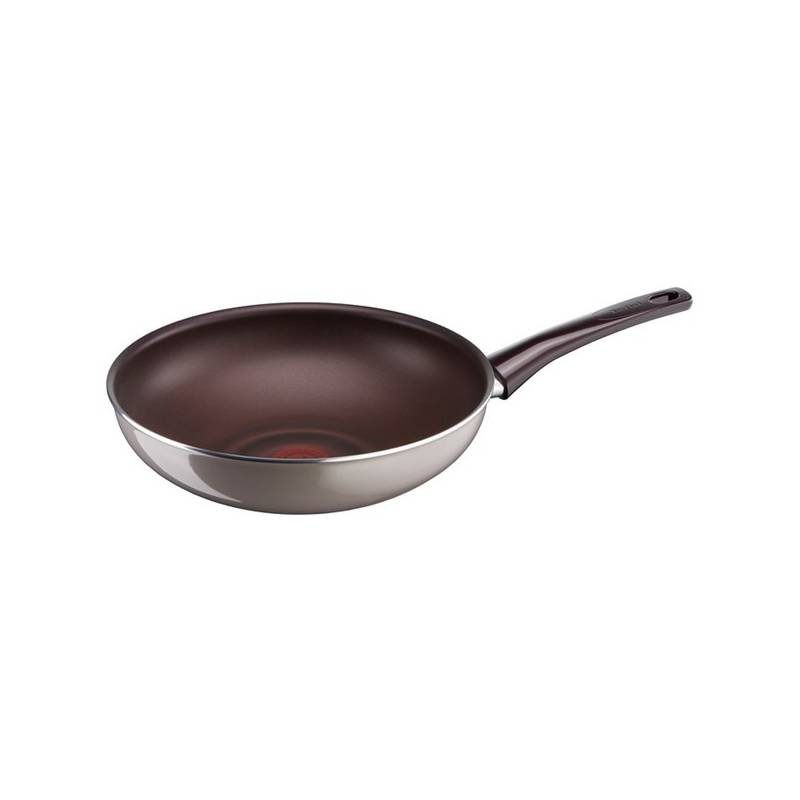Panvica WOK Tefal Pleasure D5041952 sivá