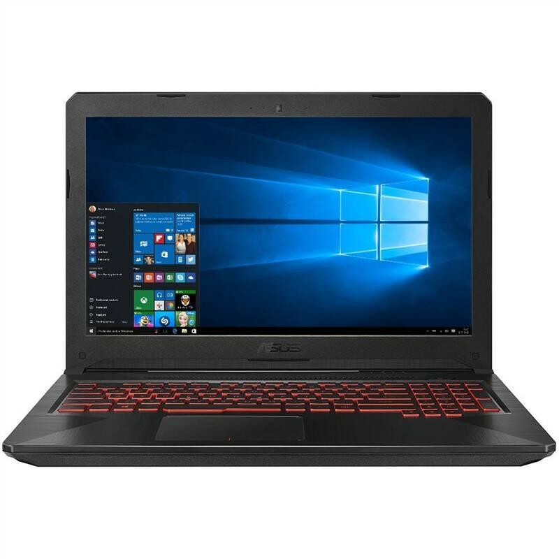 Notebook Asus FX504GD-E4830T (FX504GD-E4830T) čierny Software F-Secure SAFE, 3 zařízení / 6 měsíců (zdarma) + Doprava zadarmo
