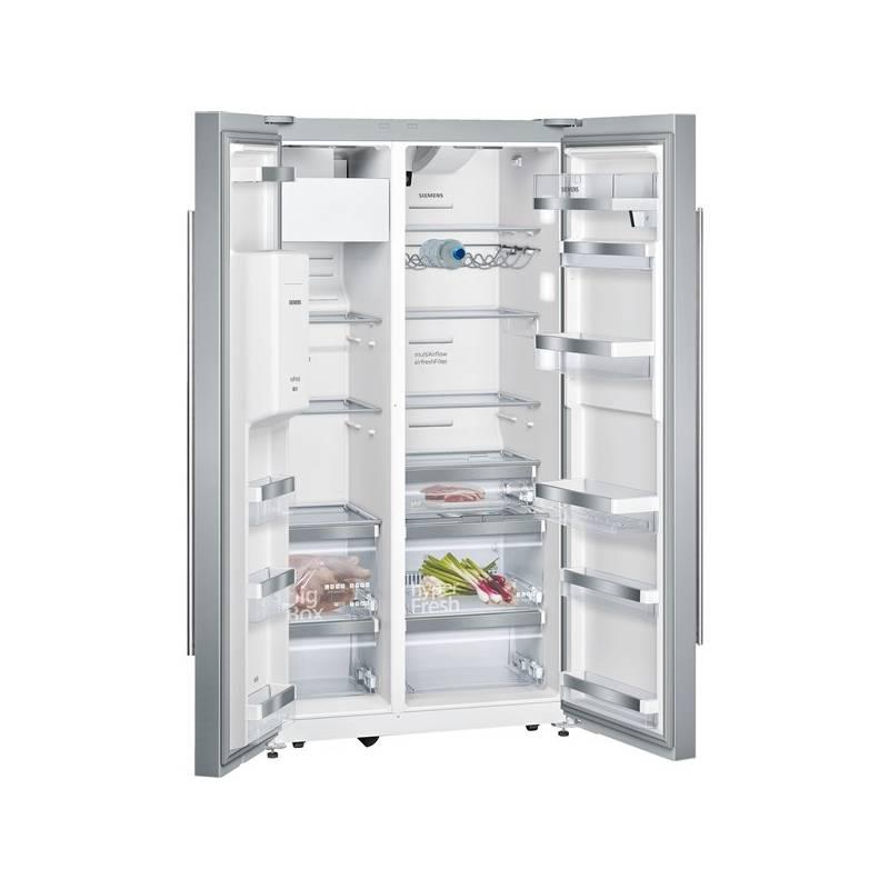 Americká lednice Siemens KA92DHI31 nerez