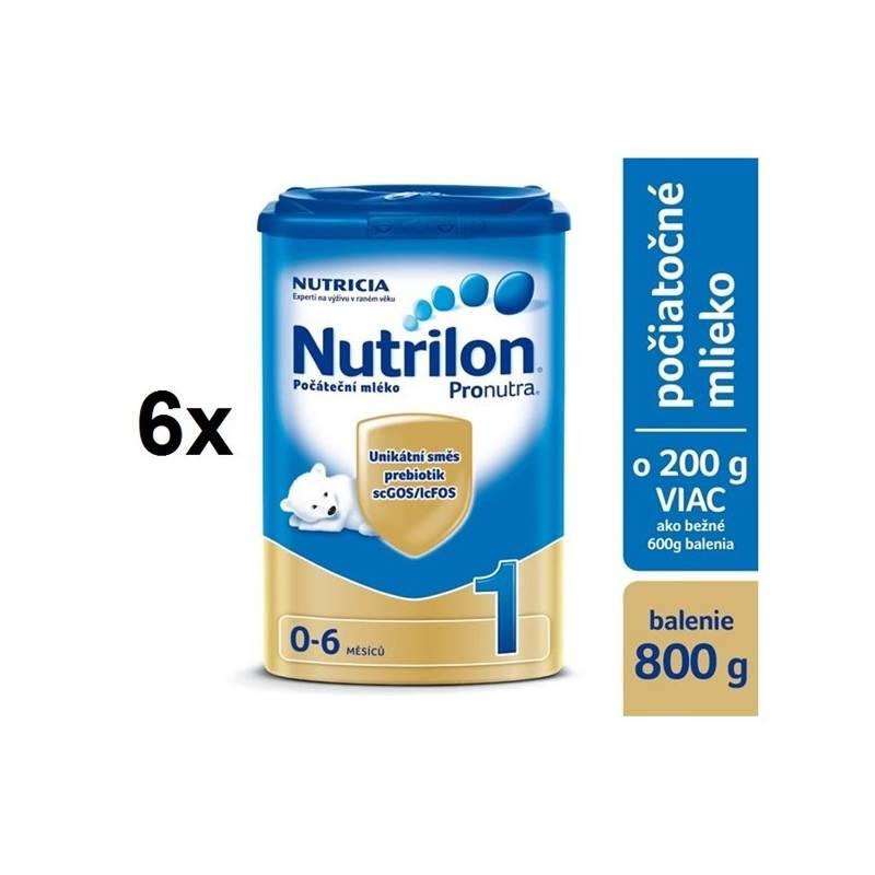 Dojčenské mlieko Nutrilon 1 Pronutra, 800g x 6ks