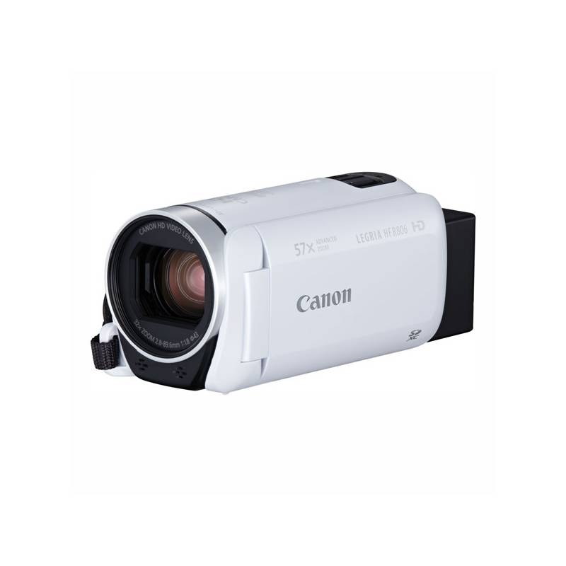 Videokamera Canon LEGRIA HF R806 Essential Kit + pouzdro + karta (1960C018) biela Paměťová karta Kingston SDXC 64GB UHS-I U1 (90R/45W) (zdarma)