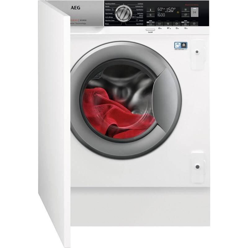 Automatická práčka so sušičkou AEG L8WBE68SI biela + Doprava zadarmo