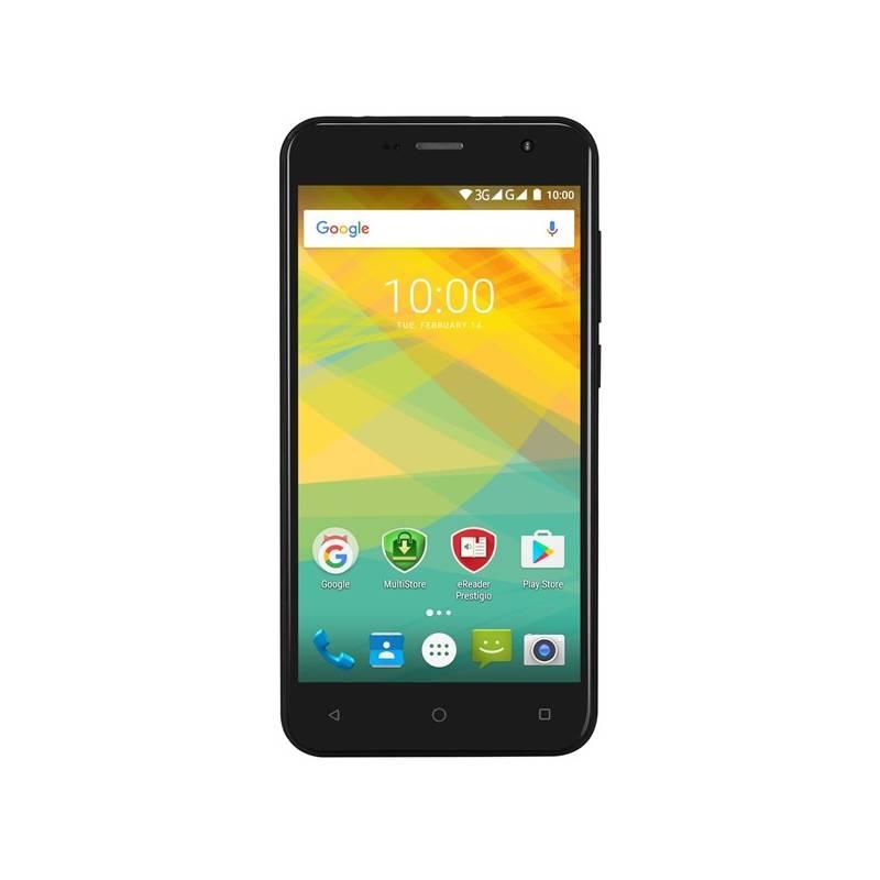 Mobilný telefón Prestigio Muze B7 Dual SIM (PSP7511DUOBLACK) čierny + Doprava zadarmo