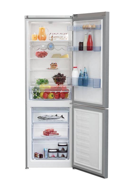 Kombinácia chladničky s mrazničkou Beko RCSE 365K40X nerez + Doprava zadarmo