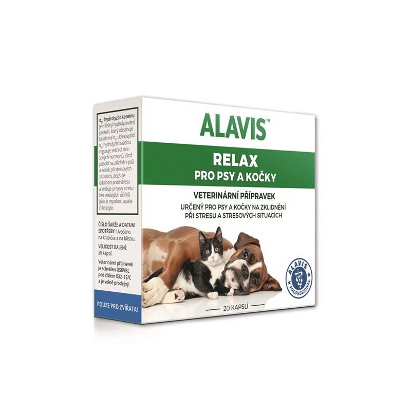 Tablety Alavis Relax pro psy a kočky 75mg 20 kapslí