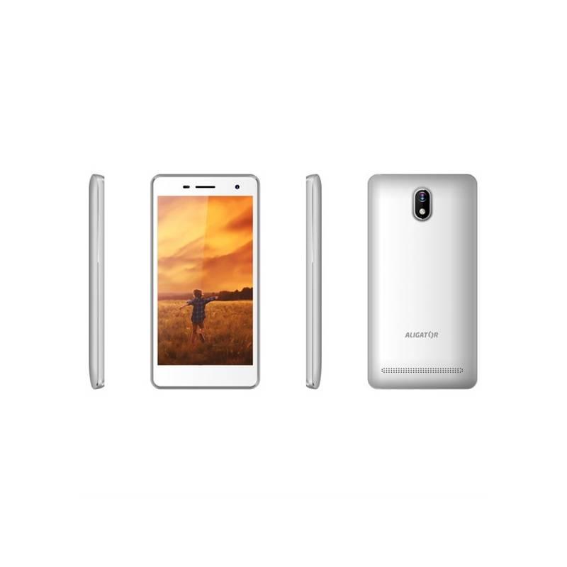 Mobilný telefón Aligator S5065 Dual SIM (AS5065WT) biely