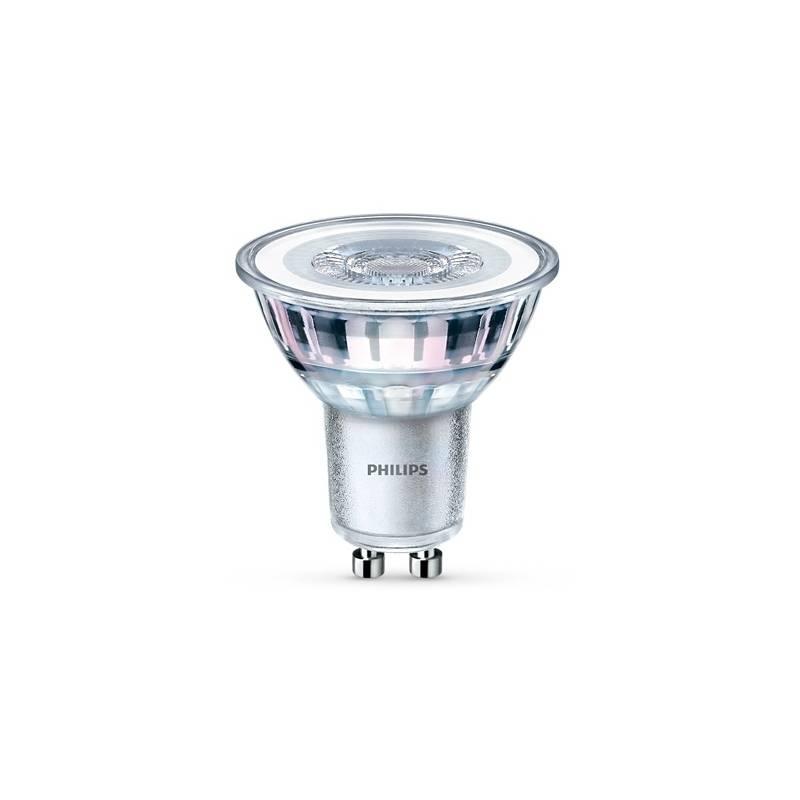 Žárovka LED Philips bodová, GU10, 3,5W, studená bílá