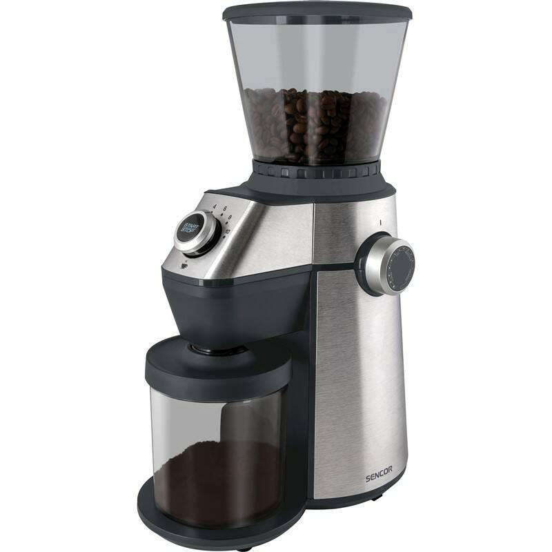 Mlynček na kávu Sencor SCG 6050SS strieborný